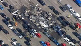 本·拉登家族私人飞机坠毁伦敦现场