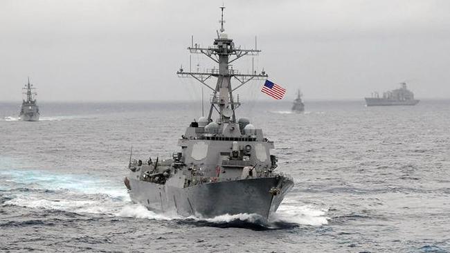 """美军司令承认:很难找到盟友一起""""巡航南海"""""""