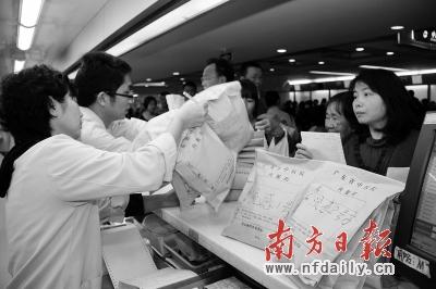 省中医院推出防治流感1、2号方,销量很大。吴远团 摄