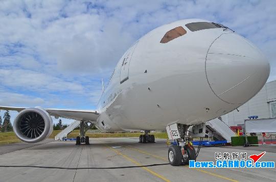 为787飞机提供通用核心系统及起落架作动及指示系统和前轮转向系统.