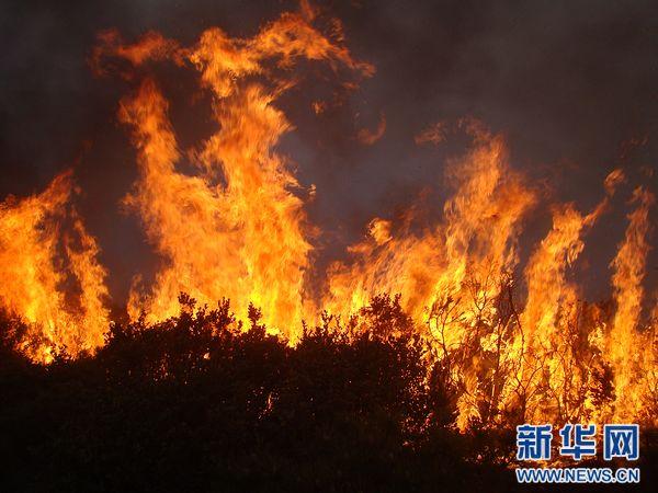 云南安宁森林火灾基本控制 对昆明主城无影响