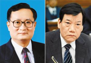 图为徐松南(左),陈存根(右). 中 新