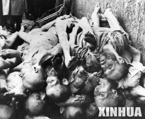 纳粹布痕瓦尔德集中营图片