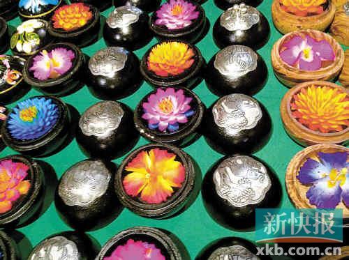 寻找手工雕刻香皂花