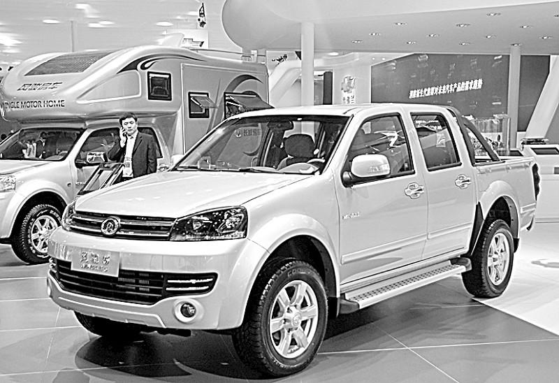 长城风骏5亮相车展新一代皮卡预计7月上市
