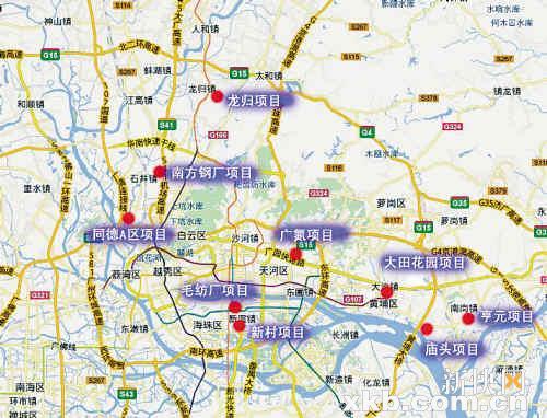 唐山市道路地图