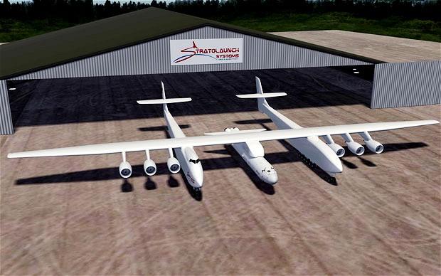 微软联合创始人计划建造世界最大飞机 翼展116米