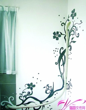 创意主题手绘墙张扬年轻个性