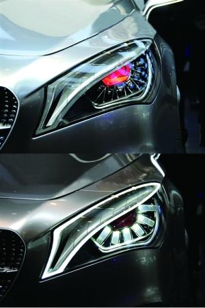 各式概念车大灯很美很销魂