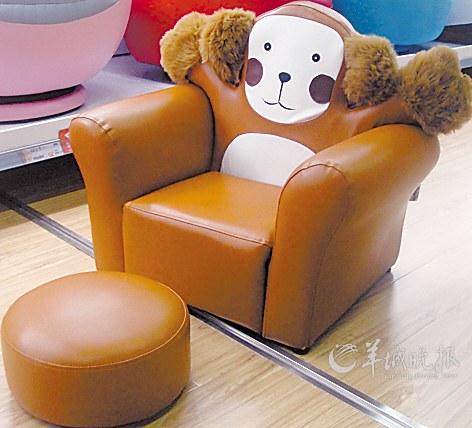 可爱的动物造型融入沙发设计