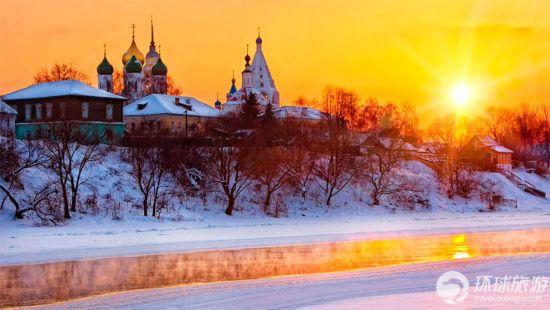华丽精致的古俄罗斯建筑组图