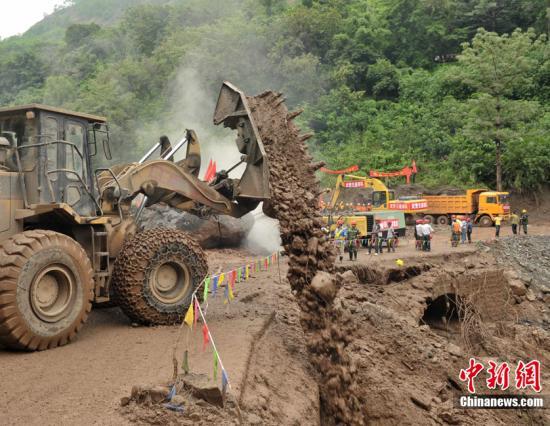 """白鹤滩水电站前期工程施工区""""6·28""""特大山洪泥石流灾害原因"""