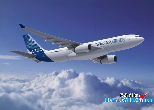 空客将a330系列飞机最大起飞重量提高到240吨