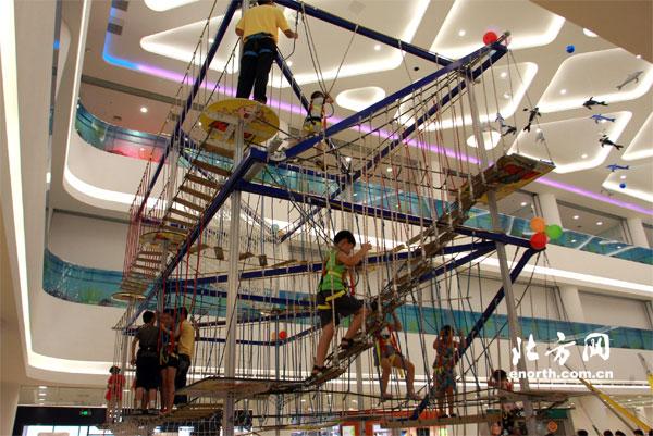 天津阳光农村彩悦城开业青少年可做互动式体cad图纸乐园自建房楼梯设计图图片