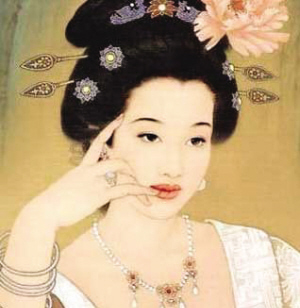 后宫嫔妃养颜秘方 高清图片