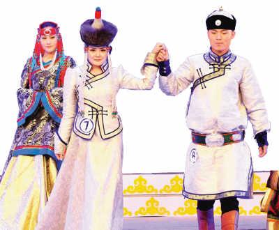 蒙古族服装服饰艺术节闭幕