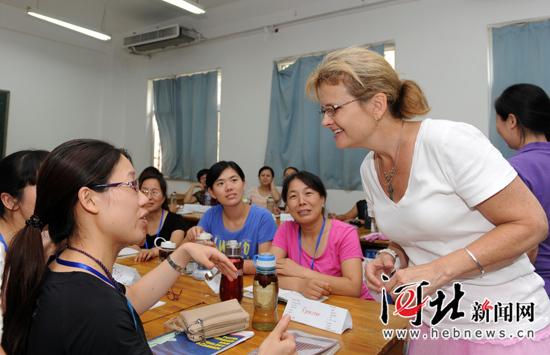 石家庄市中小学英语骨干教师t.i.p英语口语培训