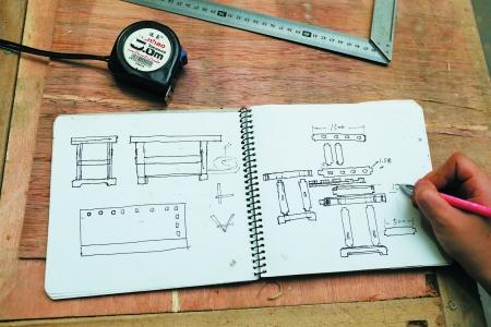 自制工具柜设计图