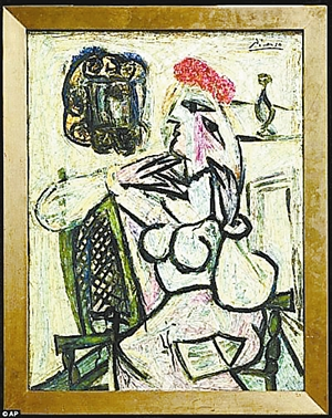 求毕加索的一幅画的名字