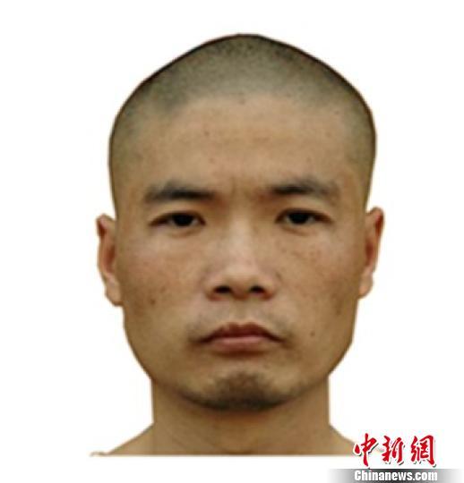 2005年周克华在云南服刑期间拍摄的照片