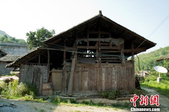 贵州木房结构图