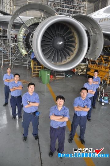 记北京飞机维修公司机身门班组