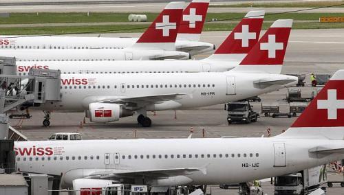 瑞士航空公司客机(资料图)