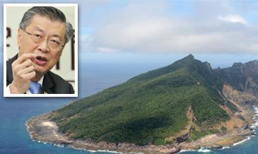 """日本将宣布钓鱼岛""""国有化"""",台""""行政院长""""陈冲表示台当局都不会承认它的效力。 图片来源:台湾""""中央社"""""""