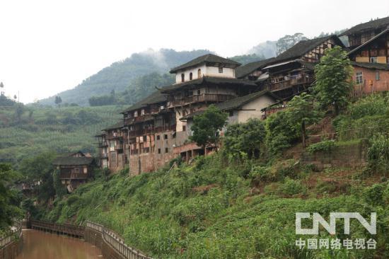 古镇福宝位于四川省泸州市合江县