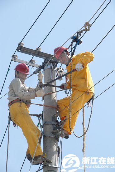 农村台区配电柜接线照片