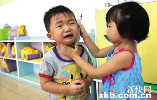 孩子刚上幼儿园哭闹怎么办