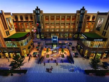 东方现代商业广场沿袭欧式巴西里卡建筑风格