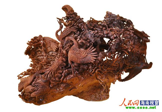 海南黄花梨将赴浙江角逐中国木雕创作大奖赛