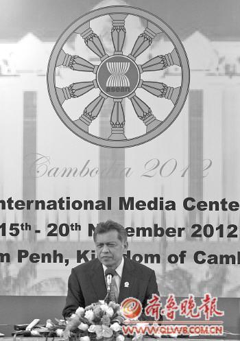 17日,东盟秘书长说东亚系列峰会将在积极氛围中展开。 新华社发