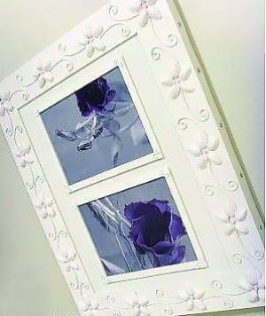 今天给朋友们介绍一种简单的照片墙相框制作方法,非常漂亮哦!
