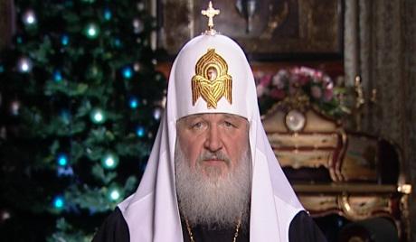 资料图:莫斯科与全俄东正教大牧首基里尔