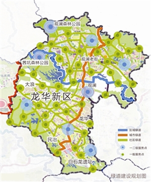 龙华新区地图清晰版_深圳龙华新区地图图片