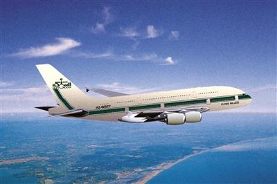 a380私人飞机效果图.图/ic