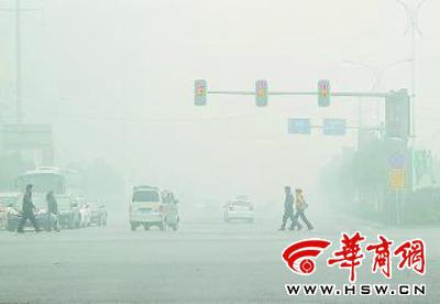 2012年陕西十大天气气候事件:冬季雾霾频发居