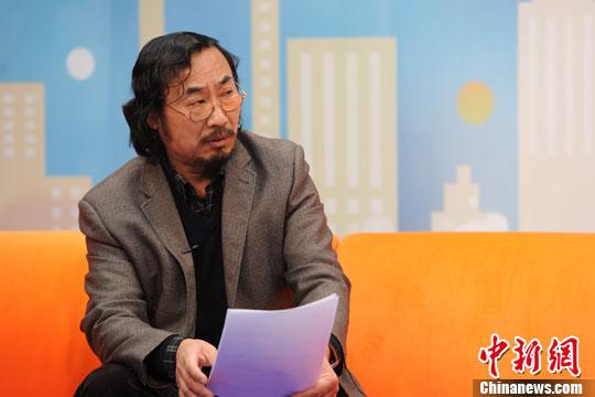 张清华。 中新网记者 张龙云 摄