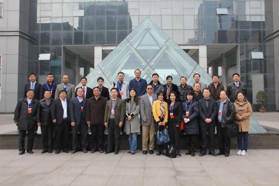 部分海外赤子赴重庆市科学技术研究院对接合影