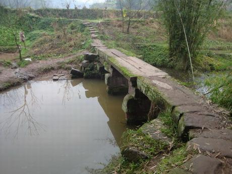 接龙寺前小石桥