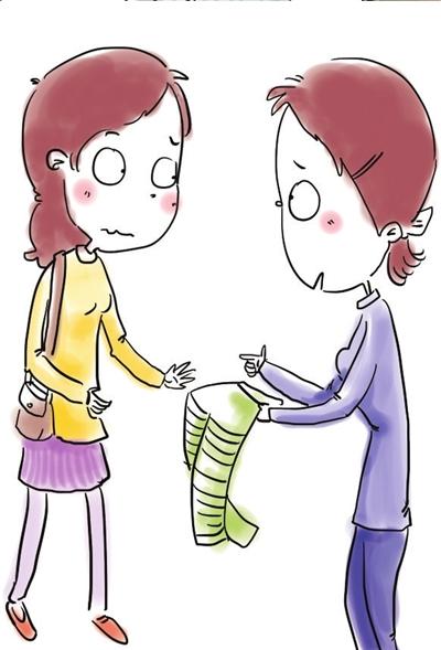 幼儿穿裤子步骤矢量图