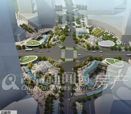 纵观青岛市,中央广场并不是岛城唯一的地铁商街,根据2012年商务局发布