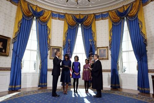 盘点历届美国总统就职典礼