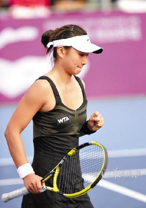 网球李娜生活照