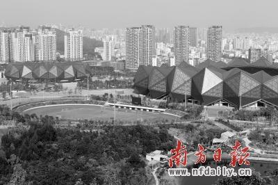大运新城即将进入全面建设阶段。