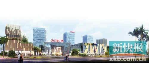 广州增城万达广场 增城商业新地标