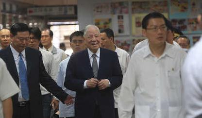 图为李登辉2012年9月因密帐案出庭。图片来源:台湾《苹果日报》