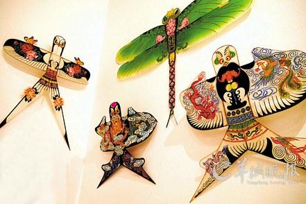幼儿沙燕子风筝剪纸步骤图解
